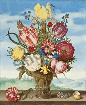 Bouquet di fiori su un Parapetto - Bosschaert Ambrosius