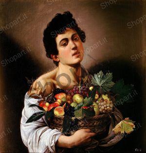 Boy with a Basket of Fruit - Caravaggio Michelangelo Merisi