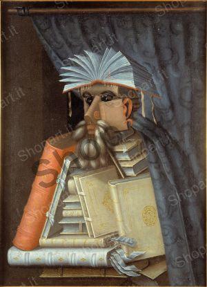 The Librarian - Arcimboldo Giuseppe