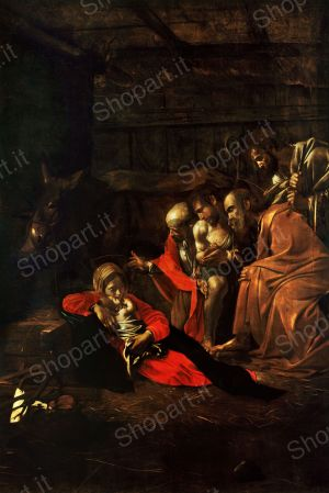 Adoration of the Shepherds - Caravaggio Michelangelo Merisi