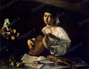 The Lute Player - Caravaggio Michelangelo Merisi