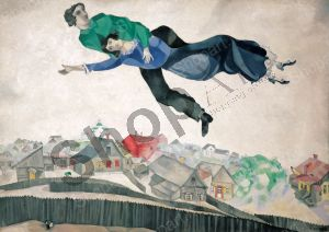 Over the Town - Chagall Marc