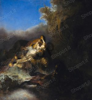 The Rape of Proserpina - Rembrandt Harmenszoon van Rijn