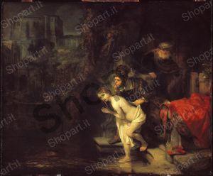 Susanna and the Elders - Rembrandt Harmenszoon van Rijn