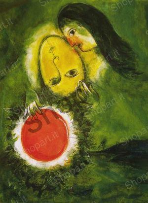 Green Landscape - Chagall Marc