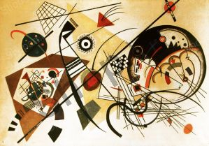 Continuous stretch - Kandinsky Wassily Wassilyevich