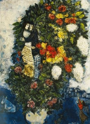 Bouquet of Flowers - Chagall Marc