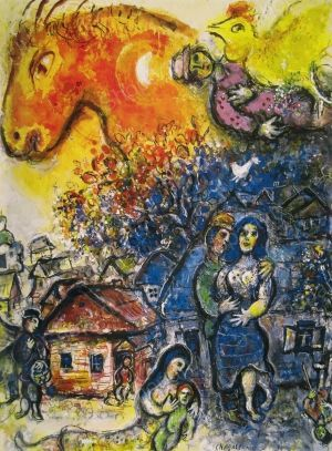 The Joy of the Village - Chagall Marc