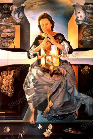 The Virgin of Port Lligat - Dalì Salvador