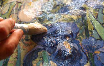 Brush Paint Effect